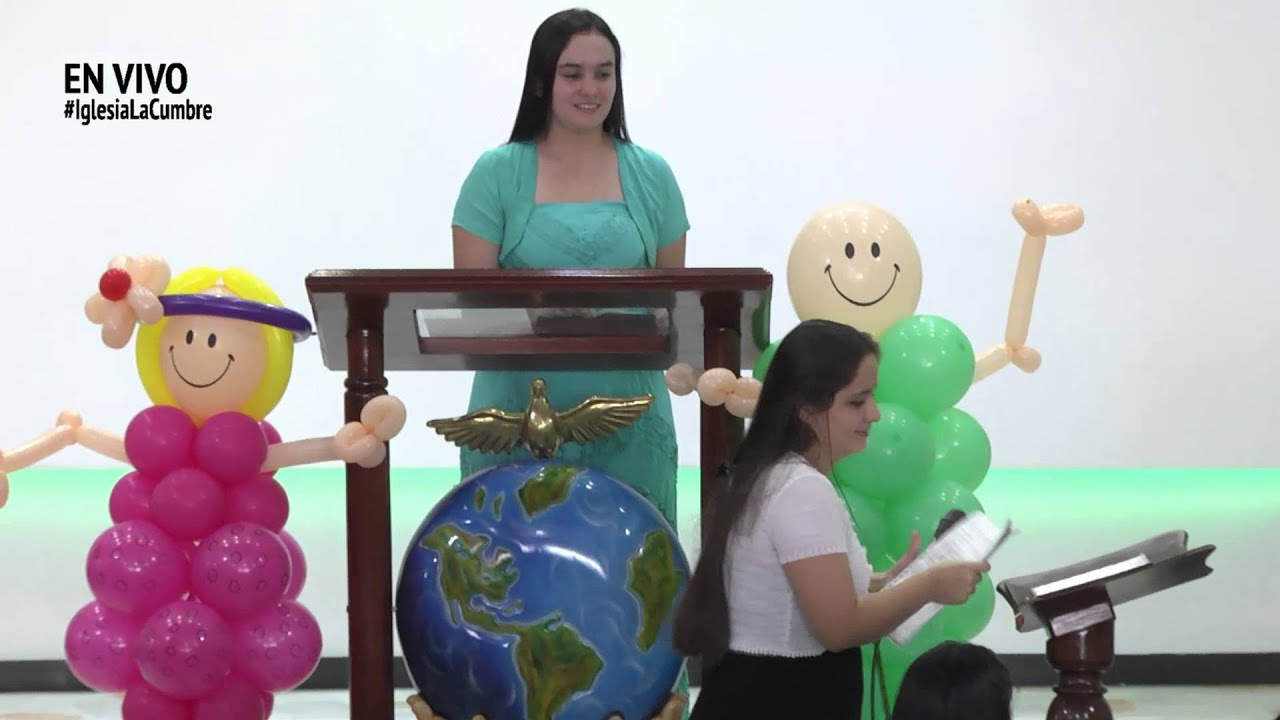 Escuela dominical culto especial de ni os youtube for Decoracion para ninos
