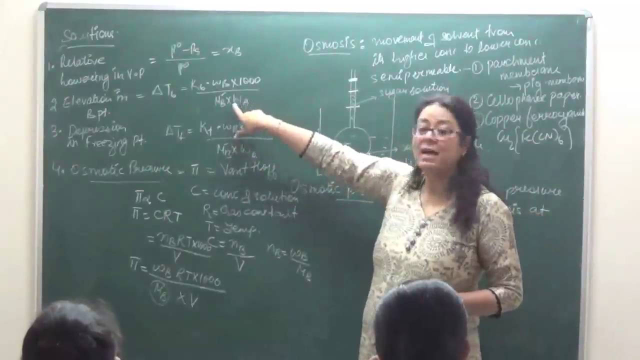 Ch xii 2 05 solution osmotic pressure 2016 by shaillee kaushal pradeep kshetrapal channel youtube