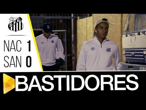 Nacional 1 x 0 Santos | BASTIDORES | Libertadores (01/05/18)