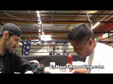 robert garcia never asks how much he gets paid unlike other trainers