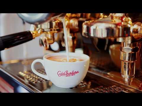 Barbera Coffee brewed in Cafe Barbera store Providencia.