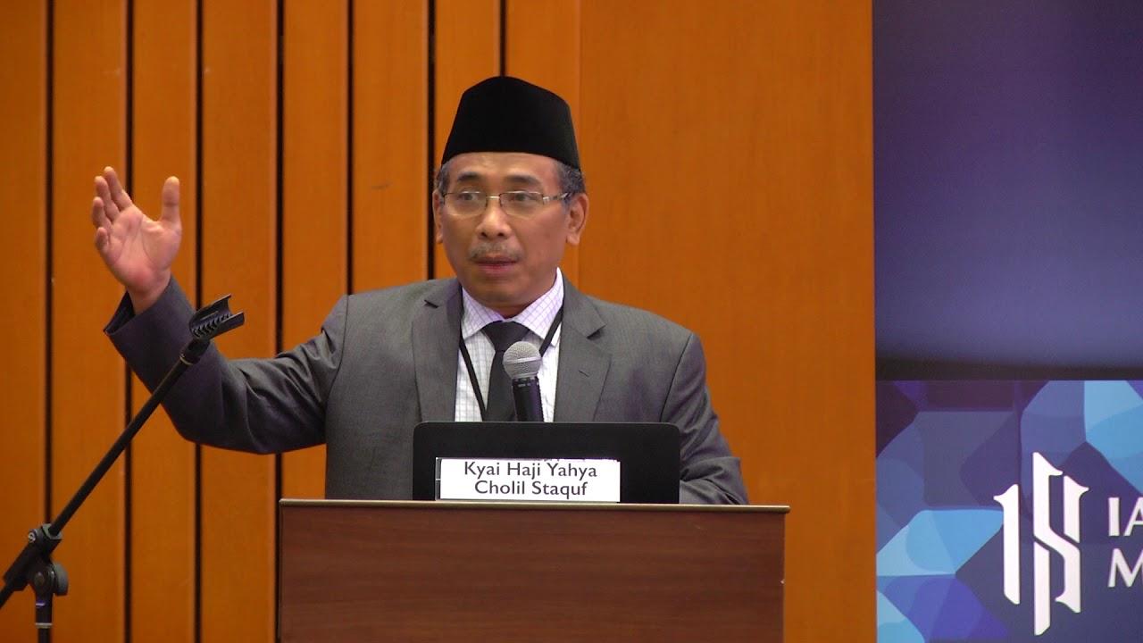 Day  Keynote Address By Kyai Haji Yahya Cholil Staquf