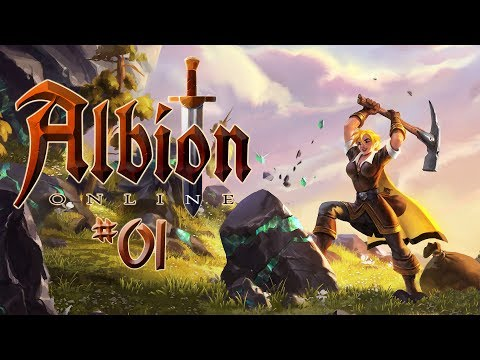 ALBION ONLINE #01 • Auf in den Sandkasten! • Albion Online Gameplay German - Deutsch