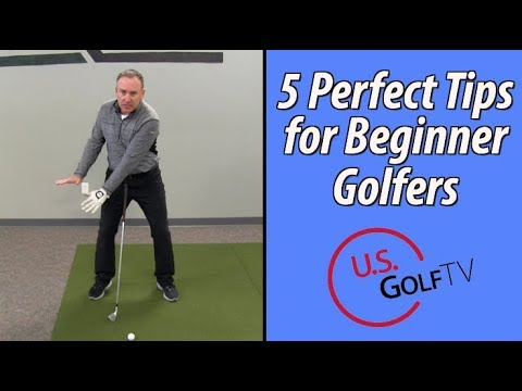 The 5 Best Tips For Beginner Golfers