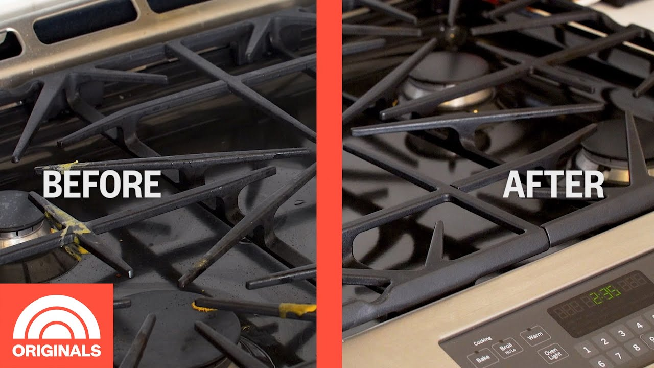 How To Clean Your Stove Top Today You