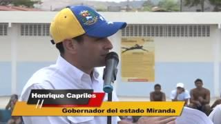 Gobernador Capriles sostuvo encuentro con comunidad de Cristóbal Rojas