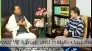 Altaf Hussain with Mubashir Luqman  Part -6/8