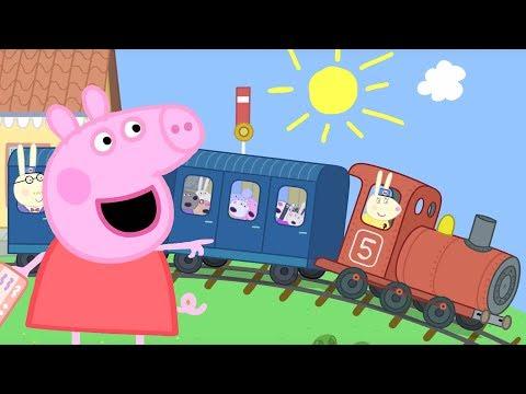 Peppa Pig en Español Episodios completos 🚂 Paseo en tren 🚂 Pepa la cerdita