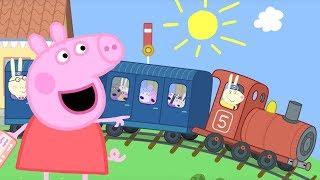 Peppa Pig en Español Episodios completos 🚂 Paseo en tren...
