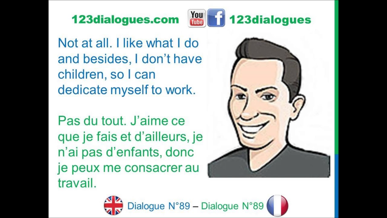 dialogue 89 - english french anglais fran u00e7ais - job interview - entretien d u0026 39 embauche