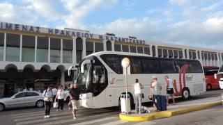 видео Аэропорт Ираклион Никос Казантзакис