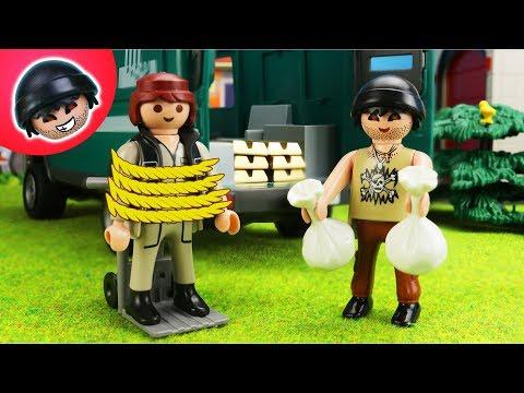 5 ARTEN Überfälle! Playmobil Polizei Film - KARLCHEN KNACK #148