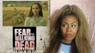 Fear The Walking Dead 4x02 REACTION!!! Another Day in the Diamond