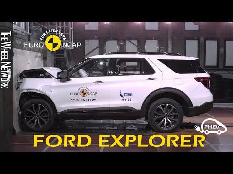 Ford Explorer Plug-in Hybrid Safety Tests Euro NCAP | November 2019 Ratings