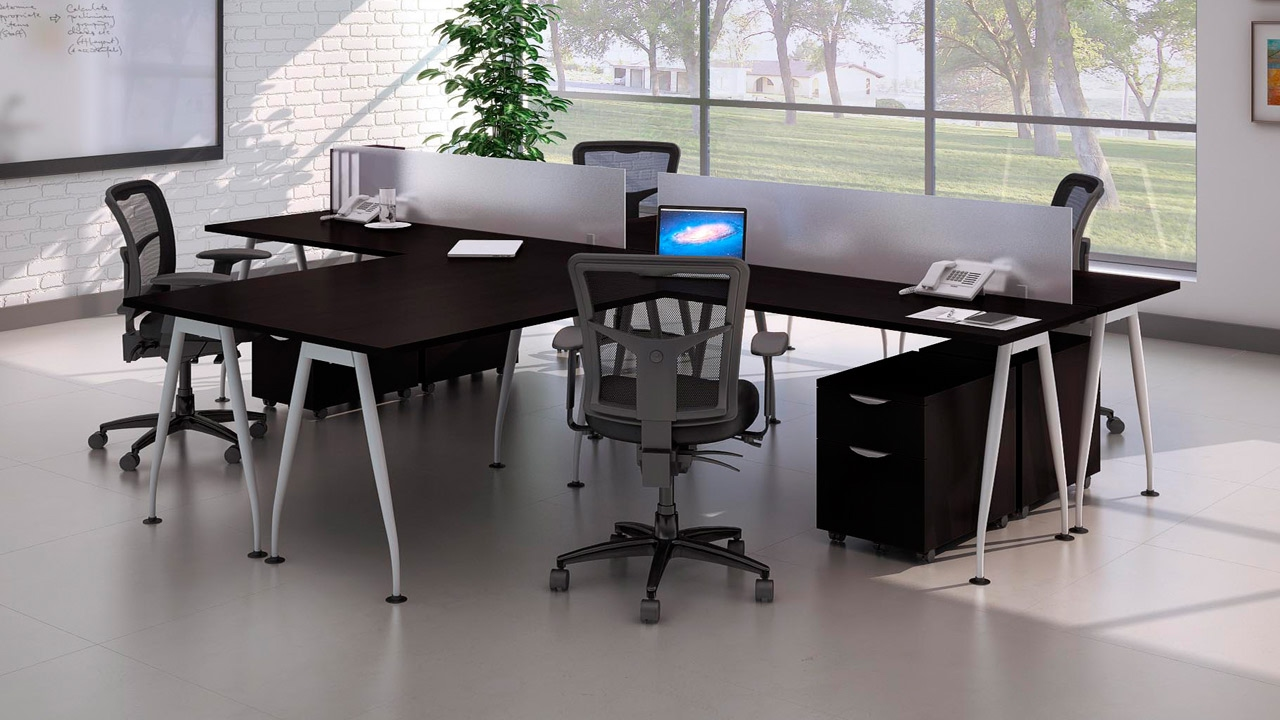 Harmony Collection Modern Office Desk Workstations From