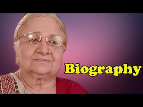 Sudha Shivpuri (Baa) | Biography
