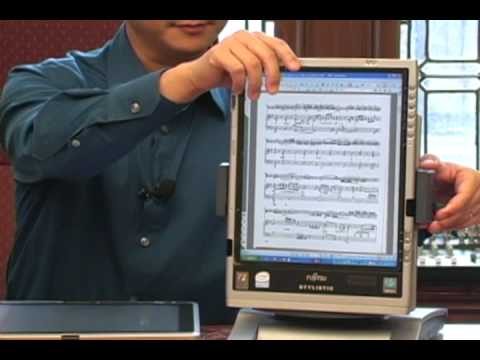 Tablet PC's for Musicians
