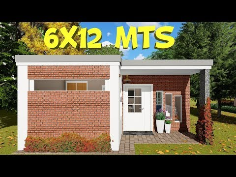 home-design-plan-6x12-with-2-bedrooms