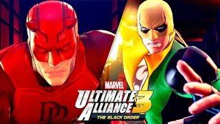 Marvel Ultimate Alliance 3 #03 - Demolidor e Punho de Ferro (Gameplay PT-BR Português)