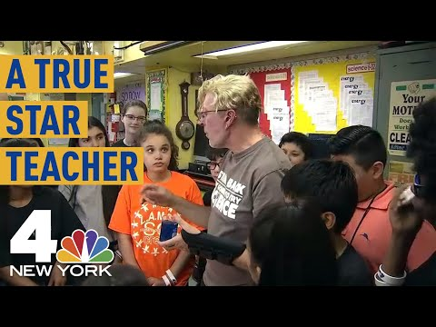Auditorium Brought to Tears as Star NYC Teacher Gets Recognition  NBC New York