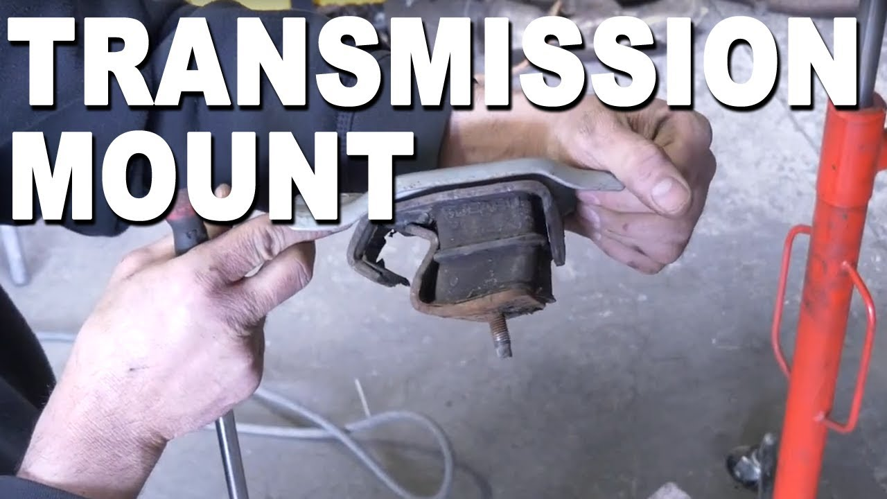 How to remove a transmission mount - 2010 Subaru Forester