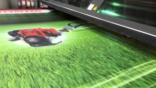 Stampa diretta a UV su forex 3 mm