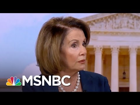 Nancy Pelosi: I'm Concerned About President Trump's 'Fitness For Office' | Morning Joe | MSNBC