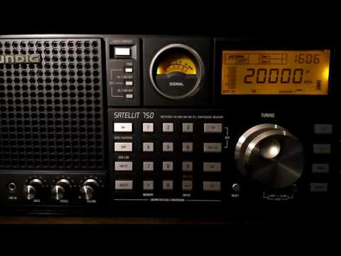 WWV Time Signal from Fort Collins, Colorado, USA @ 20000 kHz