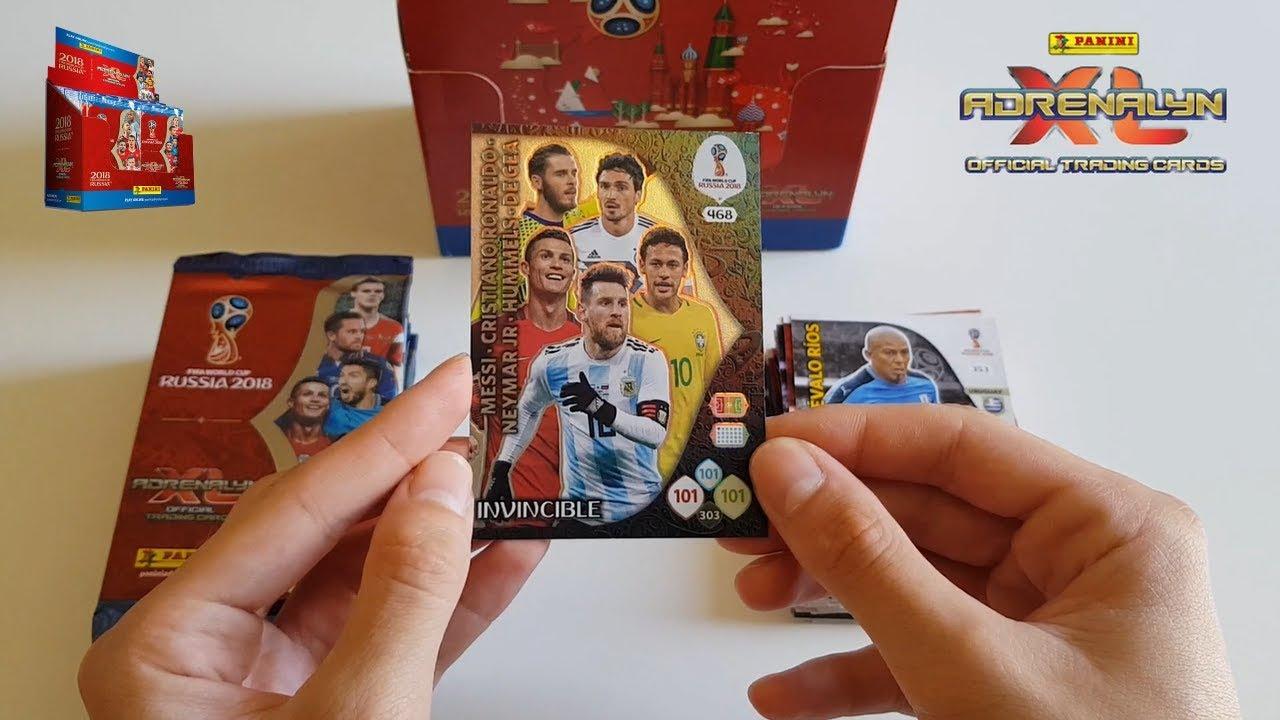 ouverture d 39 un display panini adrenalyn coupe du monde 2018 partie 1 youtube