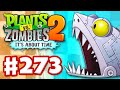 Plants vs. Zombies 2 It s About Time Gameplay Walkthrough Part 273 Zomboss Shark Fight iOS