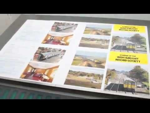 Printing the Irish Railway Record Society Journal