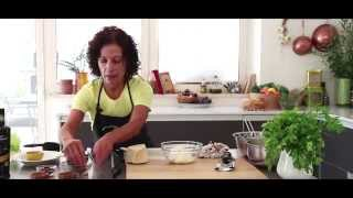 Spicy Ricotta Parmesan Dip With Raw Vegetables - Chef Gerri