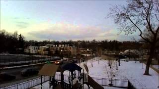Easton PA Riverside Park Amphitheater Bridge Phillipsburg NJ Aerial DJI Phantom Quadcopter
