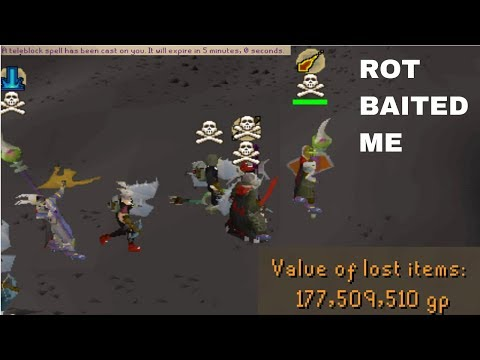 ROT BAITED AND TBED ME!! (170M RISK)