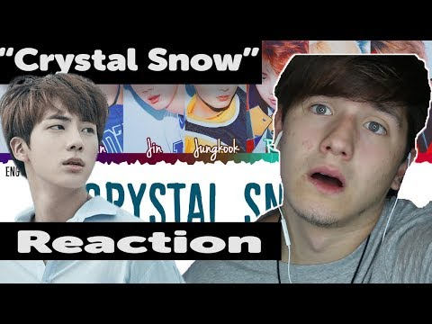 JIN TRIPLE-HIGH NOTE 😮 |  BTS (防弾少年団) - 'Crystal Snow' *REACTION*