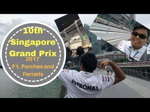 Vlog Ep 11 - Singapore Grand Prix 2017 Experience