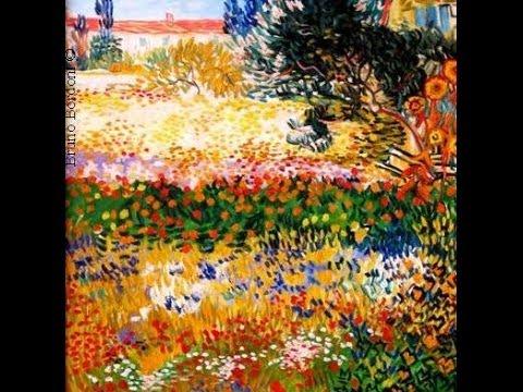 Copia d 39 arte giardino fiorito da van gogh di bruno bordoni for Alberelli da giardino fioriti