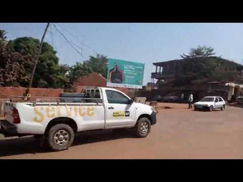 Guinea Bissau - Streetside scenes at Bar Samaritana