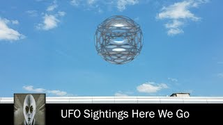 UFO Sightings Object Spotted Twice June 24th 2017. ©iUFOSightings. ...