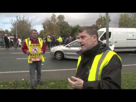 Protest in Clonmel against Irish Water