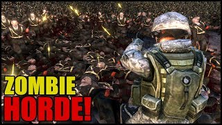 30,000 Zombies Attack Castle Walls! - Ultimate Epic Battle Simulator