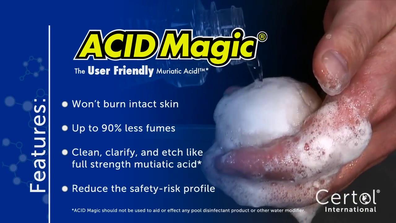 acid magic the user friendly muriatic acid