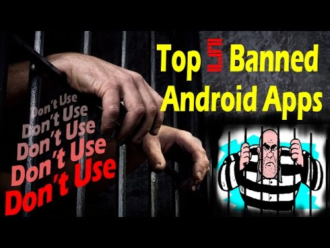 [Hindi] Top 5 Banned Apps-Don't Use !!!! Dangerous illegal Apps be Carefull  !! by Vellapanti