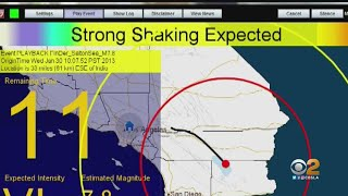 Officials Hope To Save Lives With Statewide Earthquake Early Warning System App