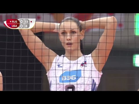 2015 FIVB Women`s World Cup Russia VS USA Women Volleyball 1080p