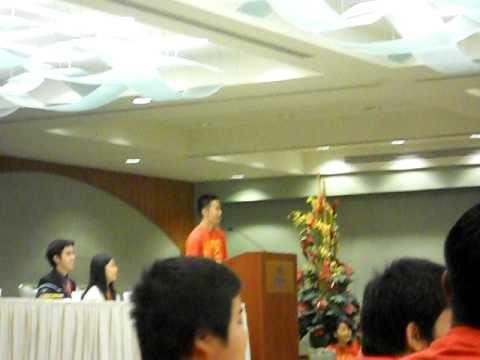 Alex Chun's Inspirational Speech