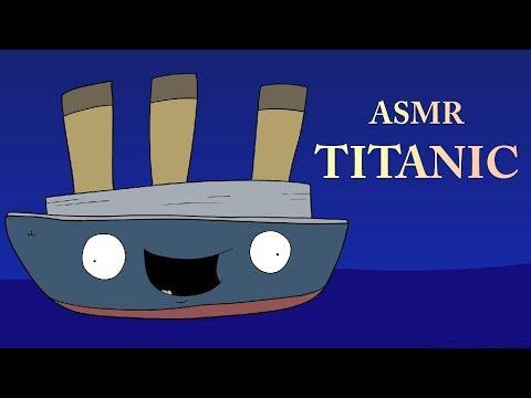 ASMR TITANIC (ASMR Cartoon Parody)