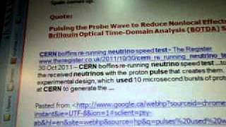 Line 17t3 Electromagnetic Solitons  CERN  Boffins Neutrinos Brillouin  Proton Pulses WOW SETI