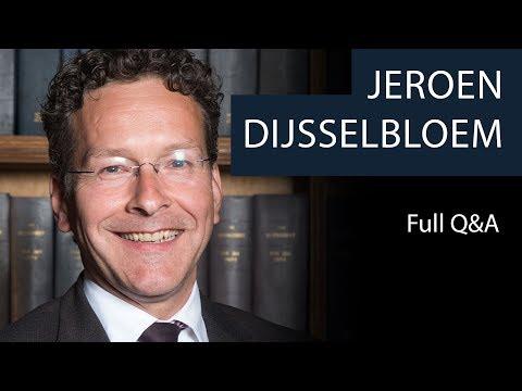 Jeroen Dijsselbloem   Full Q&A   Oxford Union