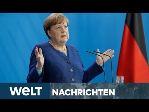 NACH CORONA-KRISE: Kanzlerin Merkel stellt erste Weichen für eine Weltordnung nach der Pandemie
